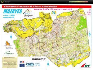 Nationale Sud Est 2015 Mazayes